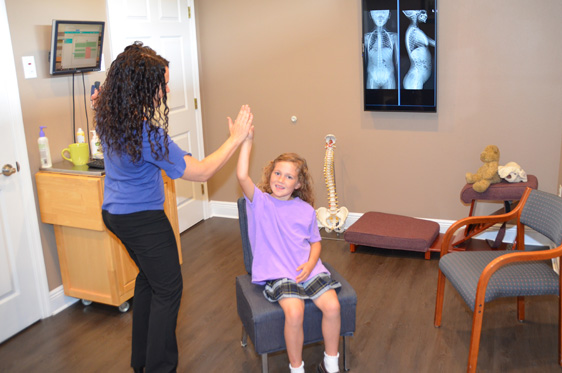 Happy Faces in Kehoe Chiropractic